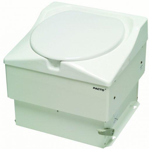 Pacto toalett er et fullkomment toalett uten vann og strømbehov. Passer perfekt til lavvo og telt leir hvor man skal være en tid.